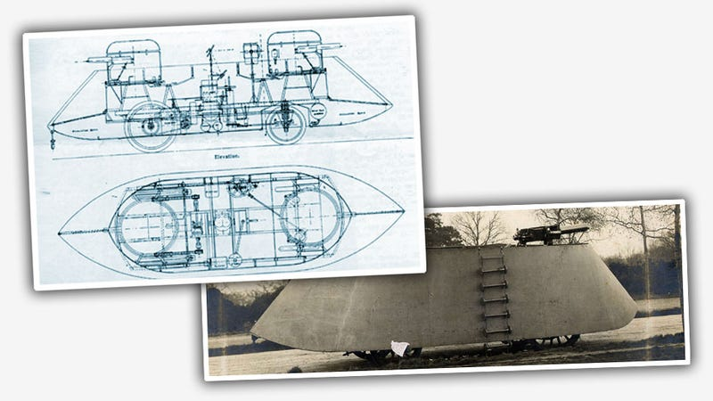 The First Armored Car Was This Terrifying War-Making Machine