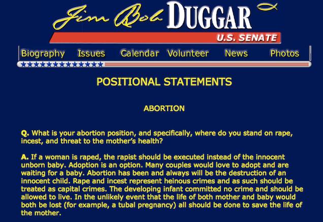 Duggar Dad's Political Platform: Incest Should Be Punishable by Death