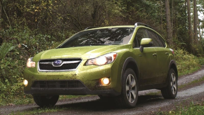 Subaru Fans Won't Be Fooled By The XV Crosstrek Hybrid