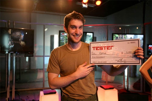 The Winner Of The Tester Explains Why He Wanted To Win Work