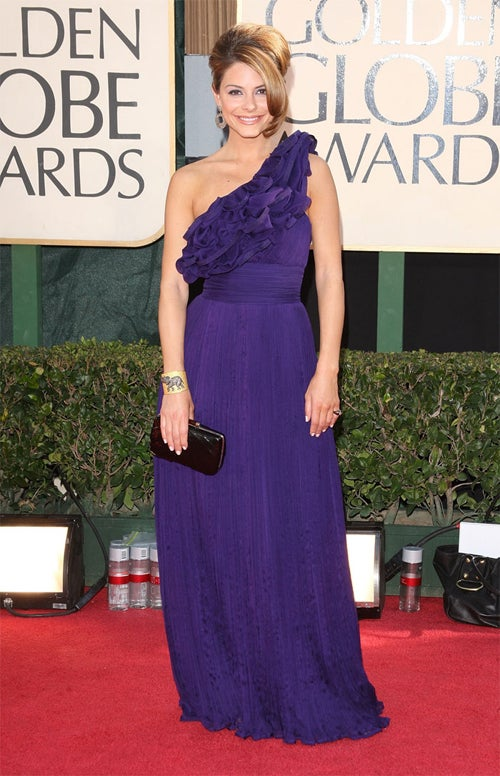 Maria Menounos: Purple Rain