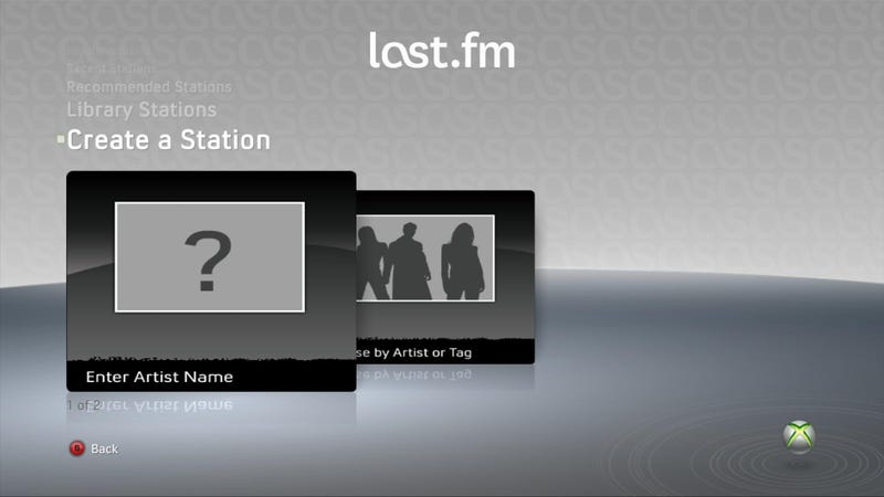Taking A Closer Look At Last.fm On The Xbox 360