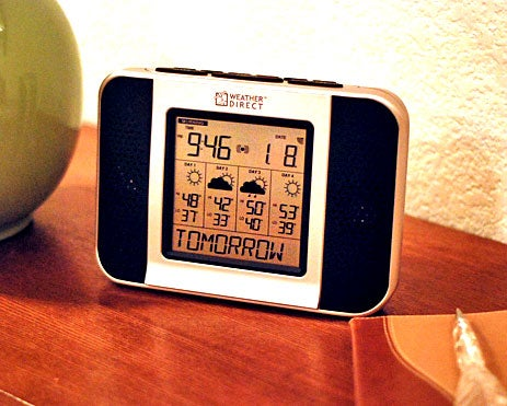 Weather Direct 4-Day Audio Weather Forecaster is Internet-Powered