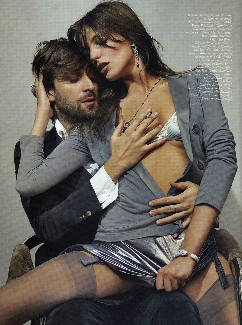 Sexy People Having Sexy Sex, Courtesy Of French Vogue