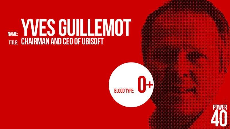 ↑ 10. Yves Guillemot, Ubisoft Boss