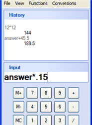 Power Up Windows Calculator with Power Calculator