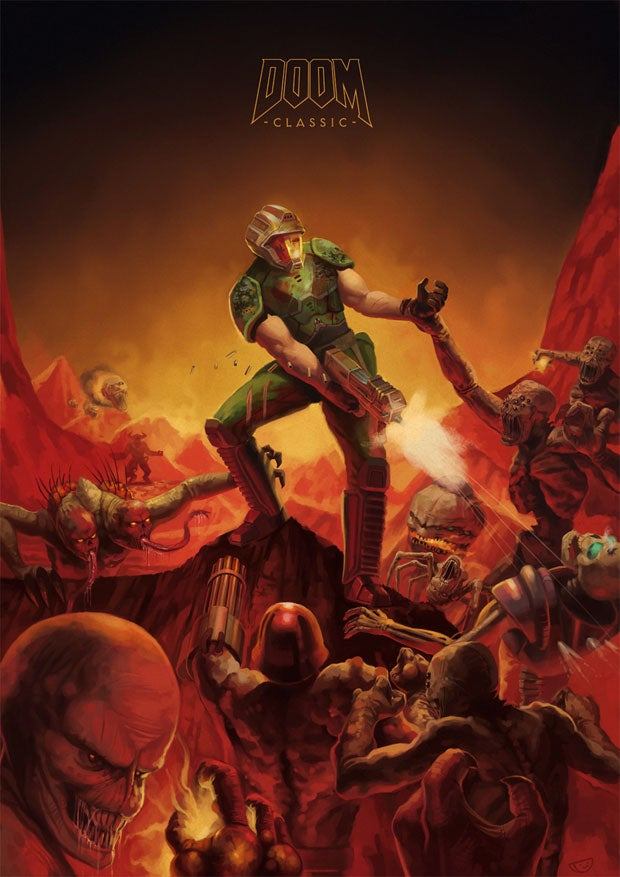 A Doom Tribute That Also Kind of 'Fixes' Doom's Box Art