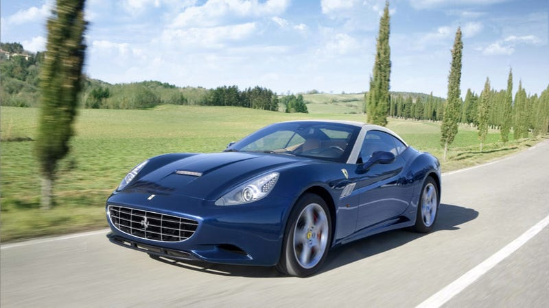 2013 Ferrari California Drops Weight Equal To One Olsen Twin