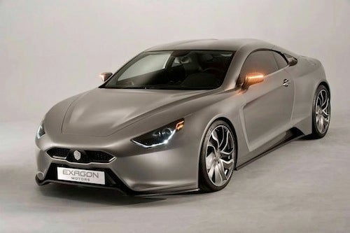 The Exagon Furtive e-GT: Zut Alors!