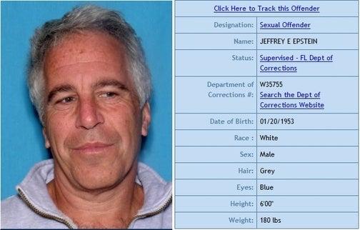 Jeffrey Epstein Cannot Look Somber