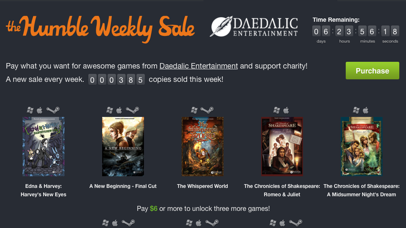 New Humble Weekly, Your Favorite Gaming Mouse, Game of Thrones [Deals]