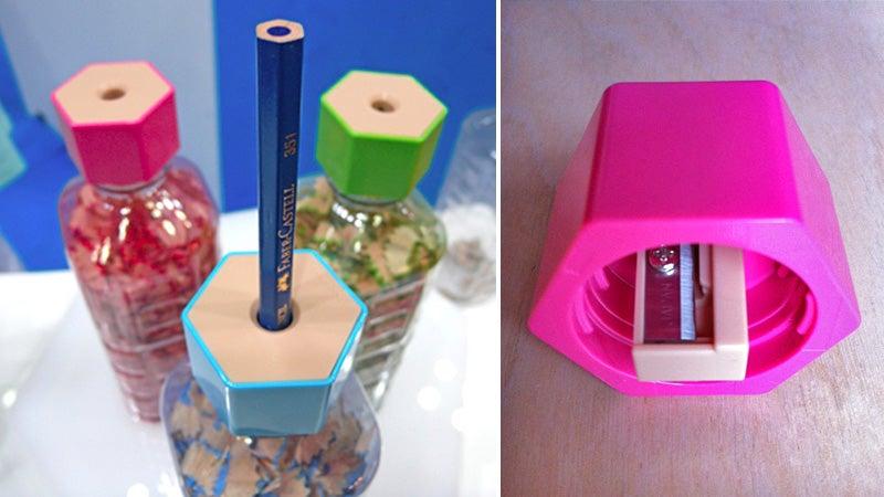 A Bottle Cap Pencil Sharpener Is Pure Genius