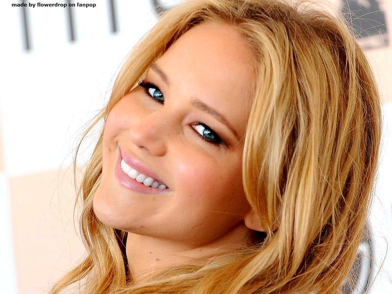 of Jennifer Lawrence with Jennifer Lawrence 2012 Photoshoot