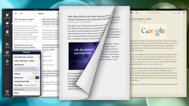 Instapaper Brings New Animations, Gestures, and Sepia Mode to its iOS App