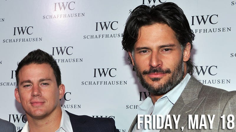 Even Straight Guys Want to Fuck Joe Manganiello, Says Channing Tatum