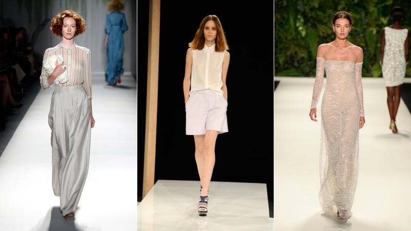 This Spring You'll Be Expected to Wear a See-Through Shirt Sans Bra