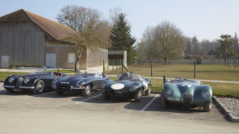 How Good Does A Jaguar F-Type Look Next To Its Classic Ancestors?