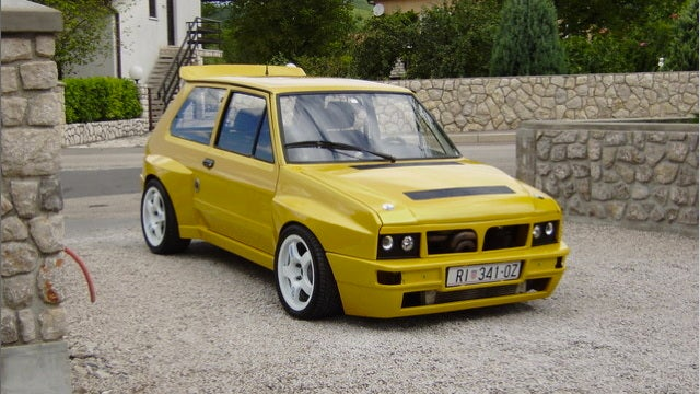 This hot Yugo Integrale hatch is the definition of mixed emotions