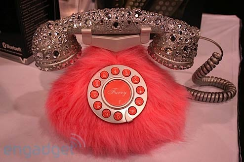 The Pink Furry Phone May Cause Conjunctivitis