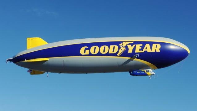 Goodyear's New Blimp Is Named 'Wingfoot One'