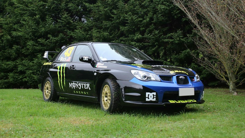 You Can Buy Ken Block's Old Rally Car