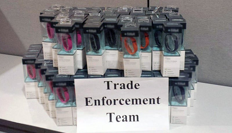 $35,000 Worth of Fake Fitbits Seized at US Border