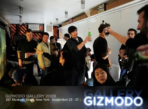 At Gizmodo Gallery 2009: Reader Meetup!