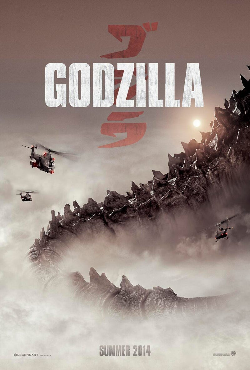 We saw a glimpse of Godzilla. You won't believe the size and majesty.
