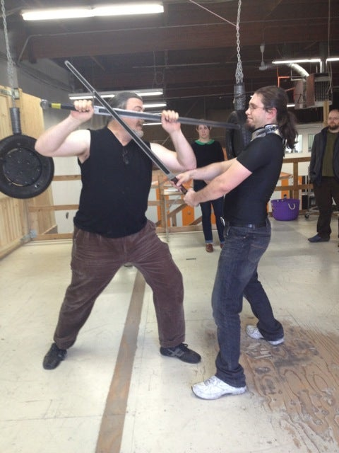 Sword Fighting with Neal Stephenson and His Mongoliad Co-Authors
