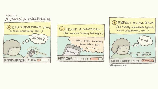 How to Annoy Generation Y