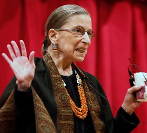 Ruth Bader Ginsburg Doesn't Take Crap From Cancer (Or John Roberts)