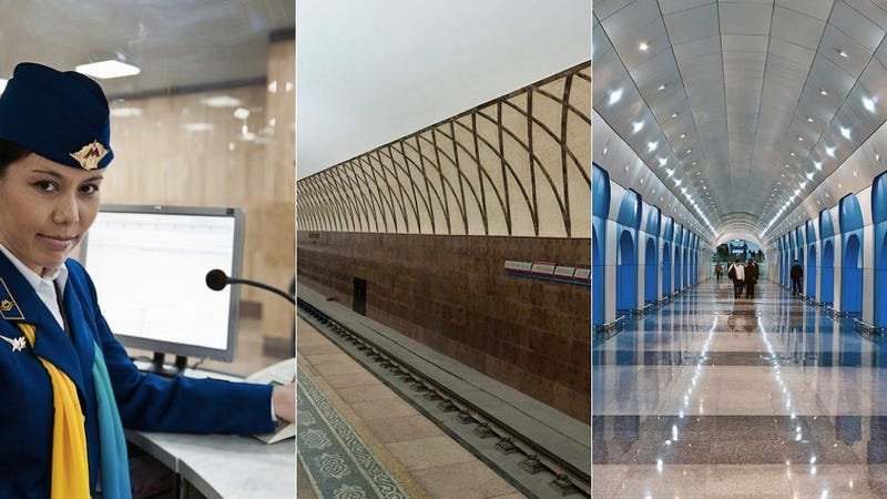 Kazakhstan's Glorious Brand New Metro Is the Only Clean Subway You'll See