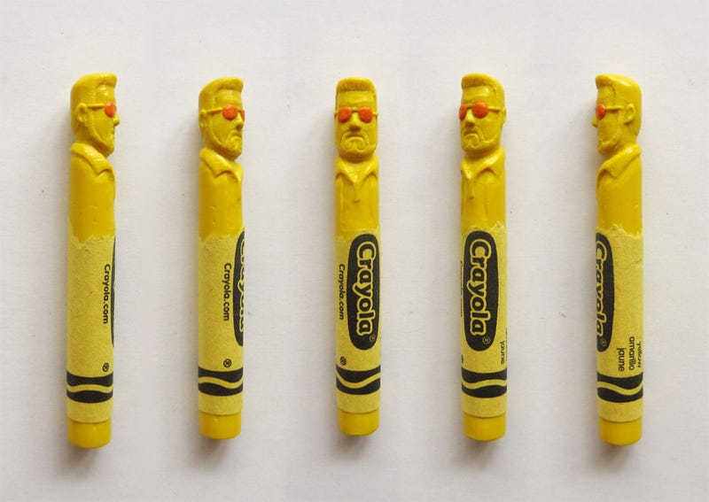 Your Favorite Characters, Carved Into Crayons