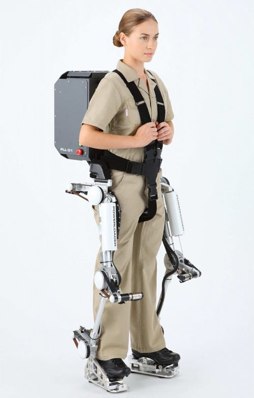 Powerloader Light Exo-Suit Adds 40kg of Kick-Power to Your Legs