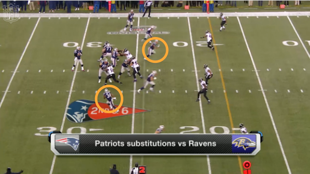 The Patriots Annoyed John Harbaugh By Having Fun With Eligible Receivers