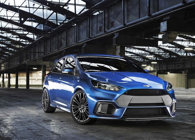 2016 Ford Focus RS: This Is Your 320-HP, AWD Monster Hatch From Ford