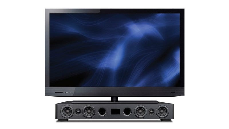 Is This the Least Elegant Soundbar Ever?