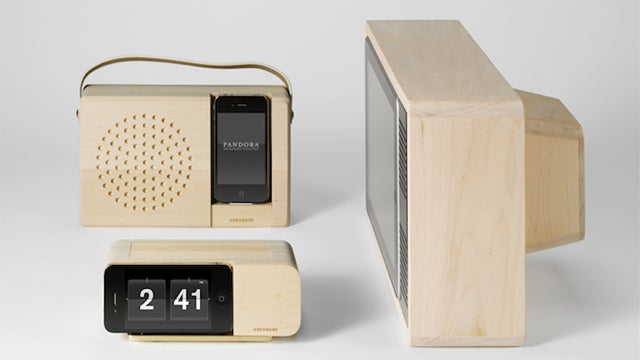I'd Consider Buying an iPhone or iPad Just to House Them in These Gorgeous Alarm Clocks