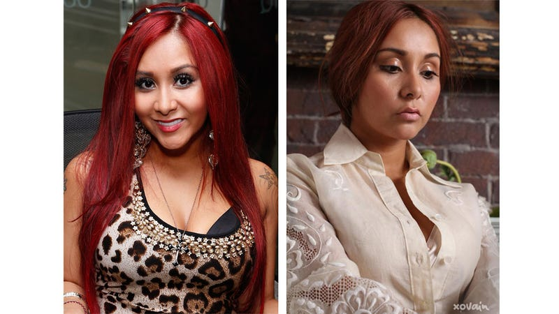 Snooki Gets a Makeunder From XOJane's New Beauty Site