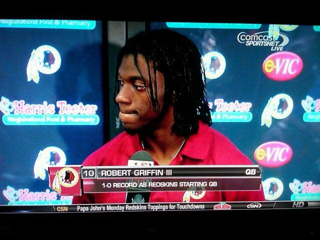 Why Your Team Sucks 2012: Washington Redskins