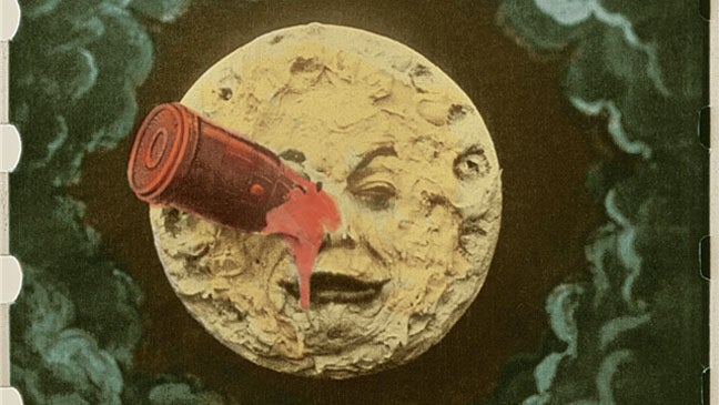 "Classic early science fiction movie ""A Trip to the Moon"" restored, with soundtrack by Air"
