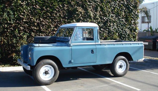 1980 Land Rover Defender Series Iii Hardtop 109 Pick Up
