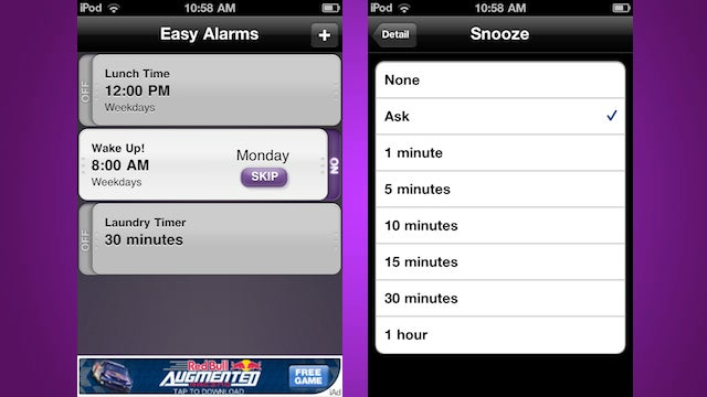 Easy Alarms Fixes Every Annoyance You've Ever Had with Alarm Clocks