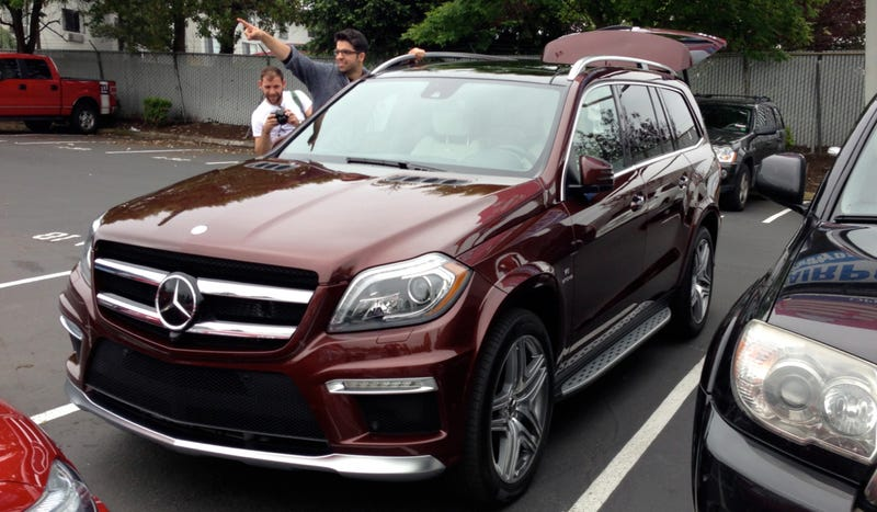 Where In The Northwest Do I Take Merc's Biggest, Brownest Gas Guzzler?