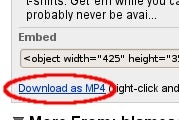 Download YouTube Videos in Higher-Quality MP4 Format