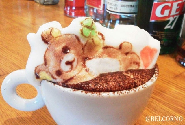 Relax, 3D Latte Art Has Been Perfected