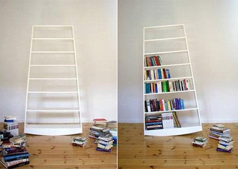 Topple Bookshelf Concept Is As Unstable As the Dollar