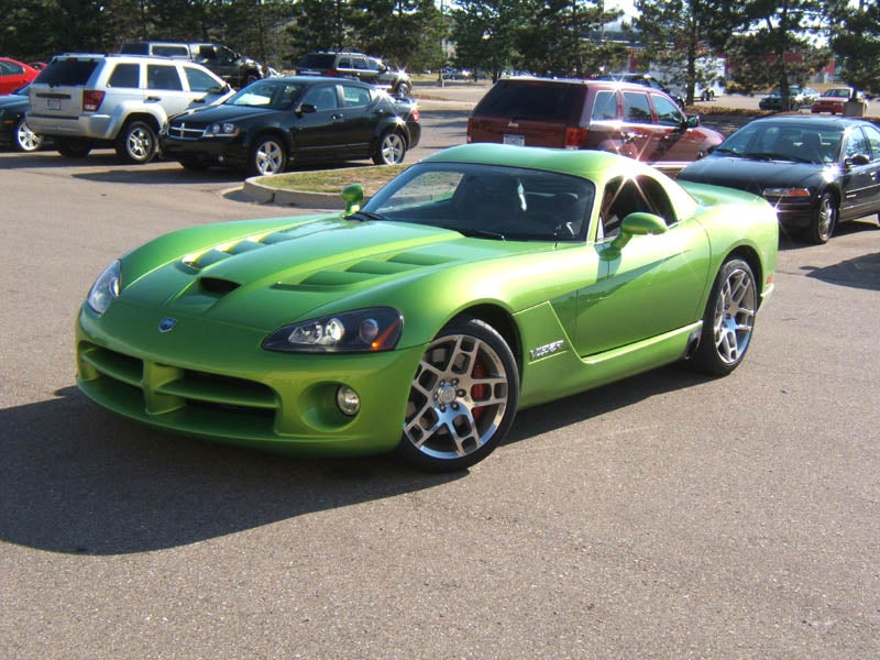 First Pre-Production 2008 Dodge Viper SRT10 Rolls Off The Line