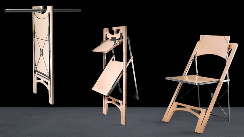 Someone Finally Designed a Folding Chair That's Easy to Store