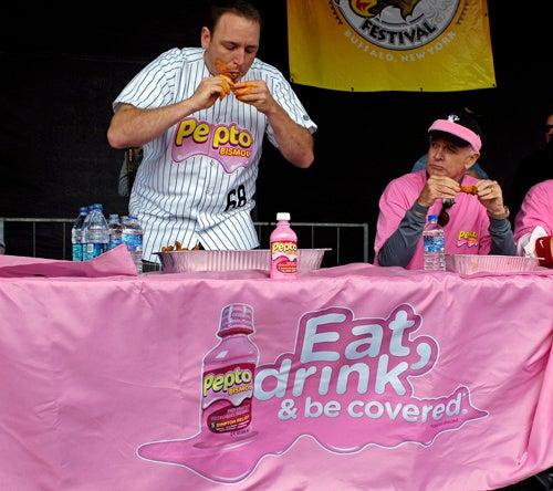 Joey Chestnut Dominates Burrito-Eating Contest